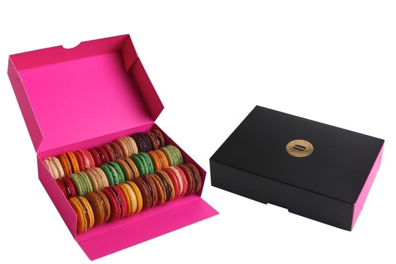 Caja de 21 macarons
