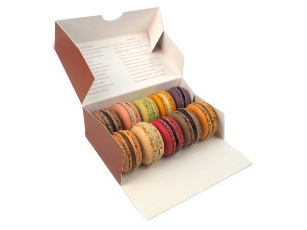 Caja de 10 macarons